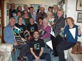 Shropshire Fairtrade Coalition celebrate the initial award of Fairtrade County status to Shropshire, including Telford & Wrekin, in February 2007